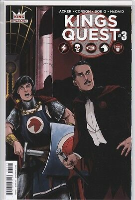 KINGS QUEST #3 COVER A (Dynamite 2016 1st Print) COMIC