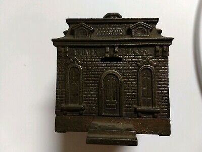 Vintage Cast Iron HOME BANK 1890's
