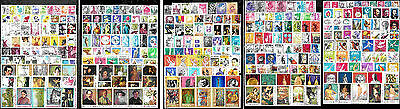 600 Romanian different stamps collection NEW compile B3