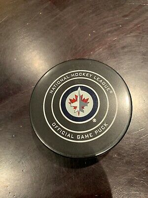Winnipeg Jets NHL OFFICIAL GAME PUCK  Brand NEW  Low price