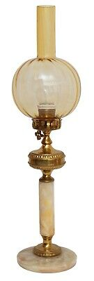 Beautiful Gründerzeit Art Nouveau Table Lamp Brass Lamp Berlin Desk Lamp