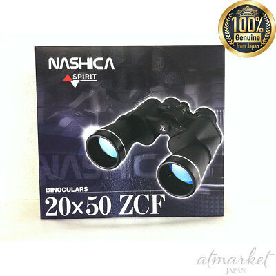 NEW NASHICA 20 times double glasses 20×50 ZCF SPIRIT genuine from JAPAN