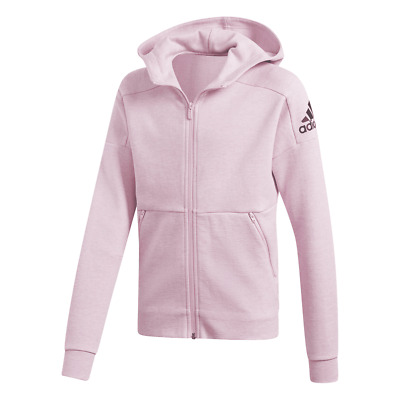 Adidas Girls ID Stadium Hooded Track Jacket