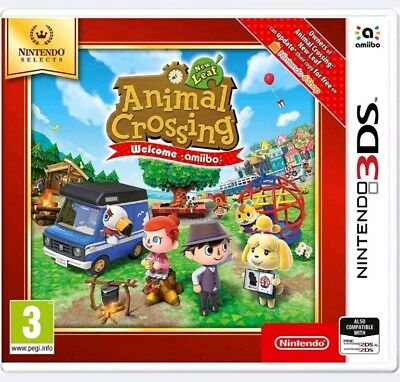 Animal Crossing: New Leaf - Welcome amiibo 3ds  (Nintendo 3DS) NEUWARE