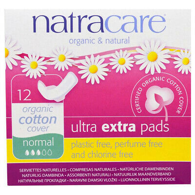 NATRACARE - Organic & Natural Ultra Extra Pads Normal - 12 Pads