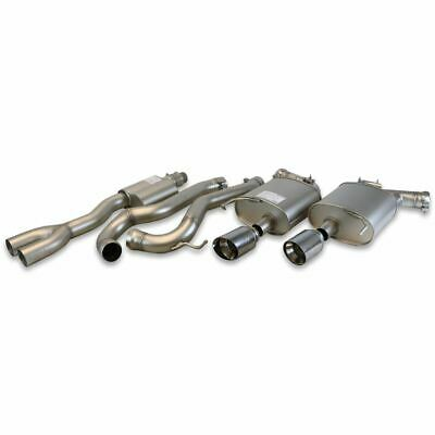 Genuine Ford Mustang Sports Exhaust System ST/ST chromed twin tail pipes 2334520