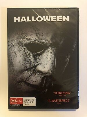 Halloween DVD Brand New & Sealed 2019 Region 4 NEW Rated MA15+ Movie 🍿