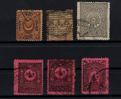 P101655/ TURKEY / POSTAGE DUE / MI # 7 – 15 Aa – 19 – 24 / 25 – 28 USED