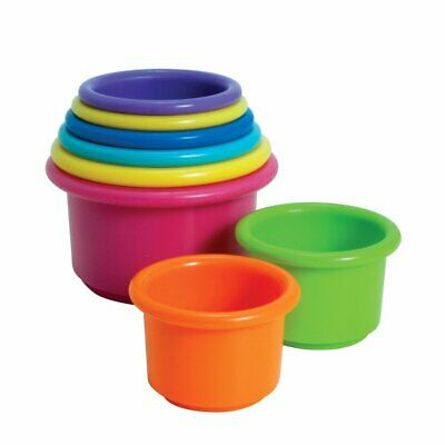Stack Up Cups Toy Learn Baby Infant Toddler Kids Developmental Educational Play