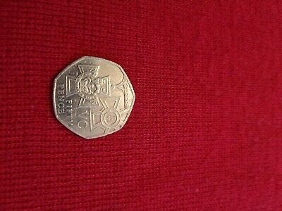 A Rare 2006 Victoria Cross 50p Coin Vc Circulated