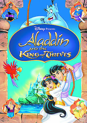 Disney Presents: Aladdin and the KING OF THIEVES Kids animated movie (DVD)