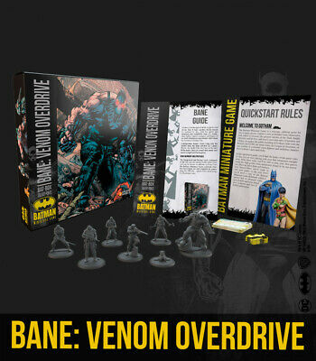 Batman Miniature Game - Bane - Venom Overdrive Bat-Box