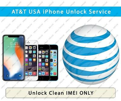 FACTORY UNLOCK SERVICE USA AT&T IPhone CLEAN and IMEI ISSUE