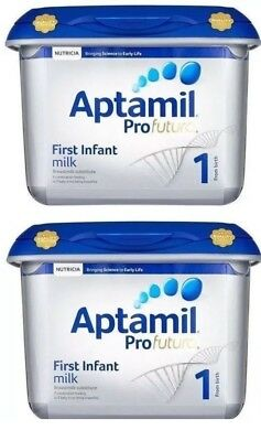 (Pack of 2) Aptamil Profutura Stage 1 First Infant Milk birth 800g BB 14MARCH19
