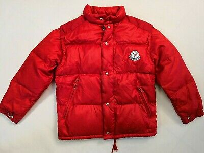 Authentic Moncler Vintage Jacket kids children from 80s Waistcoat Size 10 Years