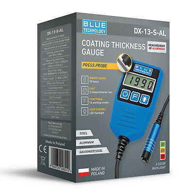 PAINT METER FOR CARS  DX-13-S-AL  Comfortable Coating Thickness Meter
