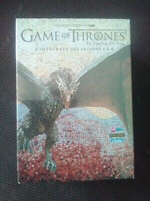 coffret dvd game of thrones saisons 1 à 6 NEUF SOUS CELLO