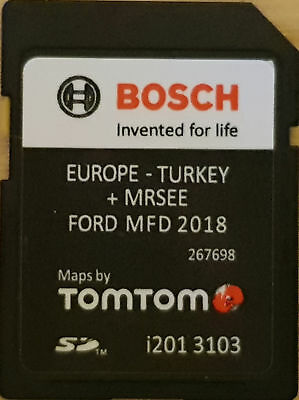 SD Aggiornamento Mappe Europe 2018 / FORD MFD UPDATE EUROPE MAPS 2018 - Sync 1