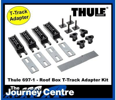 Thule Ocean 100 Roof Box Adapter T Bolts Thule 697-1 From Main Dealer