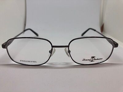 bb0a52fbe5 NEW TOMMY BAHAMA TB4021 015 Gunmetal 50.18.140 Men s Eyeglass Frames