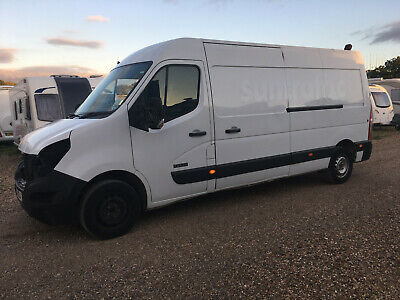 2014 Nissan Nv400 Se L3He Panel Van White Salvage Damaged Repair Cat Diesel