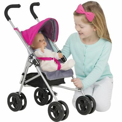 Chicco Portofino Push Along First Doll Buggy Pushchair Pram Girls Role Play Toy