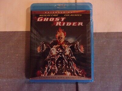 Ghost Rider (Blu-ray Disc, 2007, Extended Cut) Nicolas Cage