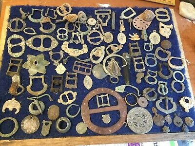 Large Lot Of Detecting Found Artefacts 18