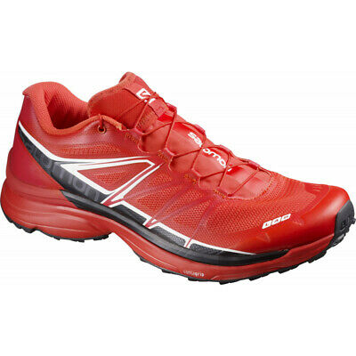 finest selection 3f23b b1a5e MENS SALOMON S-LAB Wings Trail Running Shoes - Red
