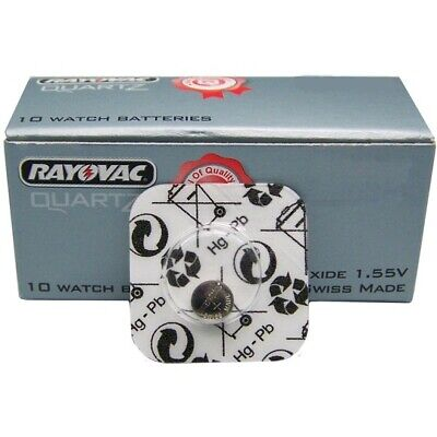 RAYOVAC Silver Oxide Swiss Watch Cell Batteries 321 329 364 370 377 379 395 399