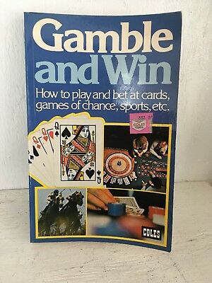 Vintage Gamble And Win M.C. Fisk Coles Paperback 1977 Book. Rare!
