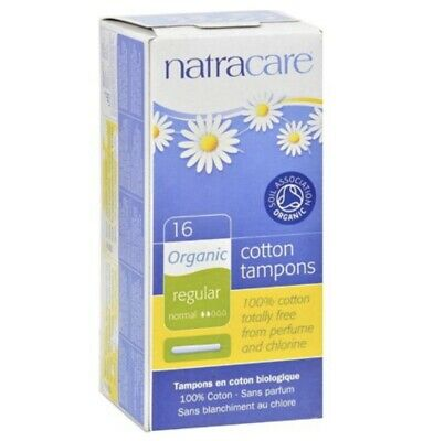 9 Boxes NEW Natracare Organic Cotton Tampons