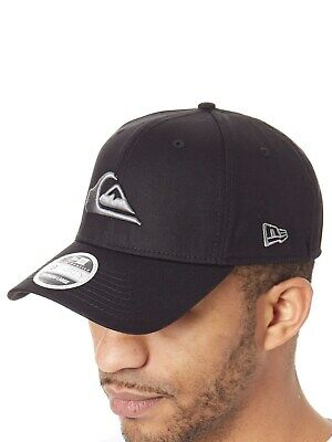 ab35438fd8a QUIKSILVER MENS MOUNTAIN and Wave New Era Hat - Black White - EUR 22 ...