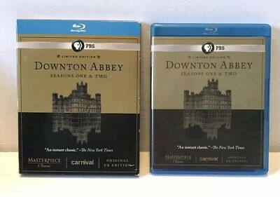 Downton Abbey - Seasons One & Two (Blu-ray Disc, 2012, 5-Disc set)