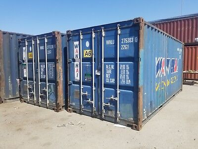 20' CARGO WORTHY SHIPPING/STORAGE CONTAINER IN Wilmington California