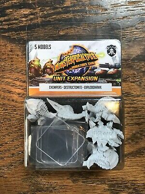 Monsterpocalypse: Planet Eaters: Chompers, Destructomite & Explodohawk PIP 51005
