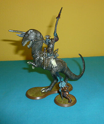 Heroscape Heroscape Grimnak Orc Rider On Dionosaur From The Rise Of