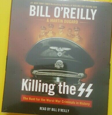Killing the SS The Hunt for the Worst War Criminals Audiobook CD Bill O'Reilly