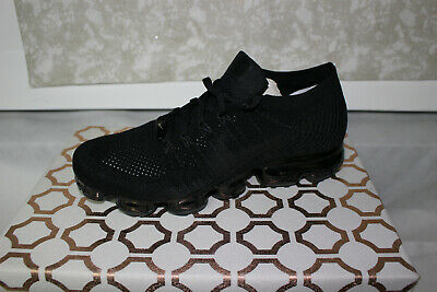 Nike Air Vapormax Flyknit AT9789-001 Neutral Tone Black, Brand New Size 10.5