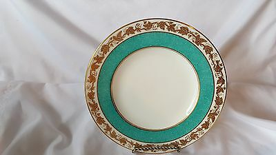 Wedgwood  Whitehall   Turquoise Salad Plate W3992   12 Available