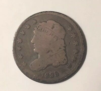 1835 1/2 10c Good Capped Bust Half Dime