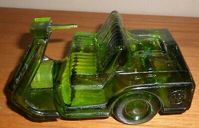 Vintage Avon 1970's Green GOLF CART Bottle with WILD COUNTRY Aftershave~Full