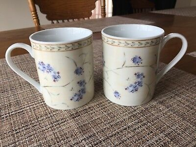 Heritage Mint Ltd Coffee Mugs - Set of 2 - Enchanted Garden