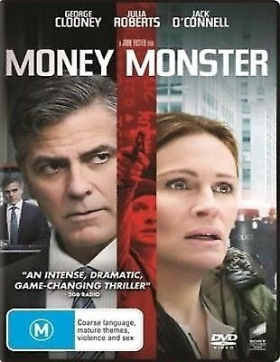 Money Monster DVD 2016 M / Buy 4 or more DVD's = We Refund Postage