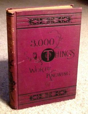 Antique Victorian Cookbook & Farm Guide Recipes Confectionery Candy Pastry Beer