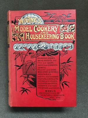 Rare Victorian Antique Cookbook Household Home Confectionery Preserves Wines