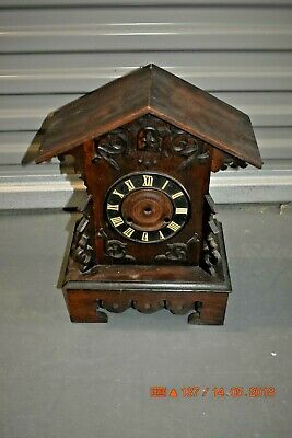 Antique/Vintage Mantle Cuckoo clock Cabinet Only for project