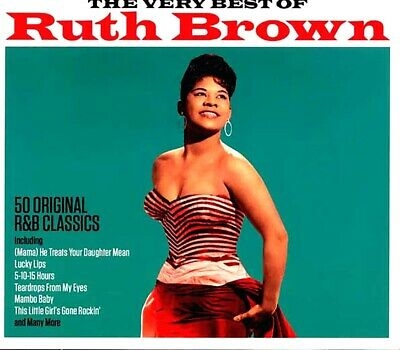 SEALED NEW CD Ruth Brown - The Very Best Of Ruth Brown
