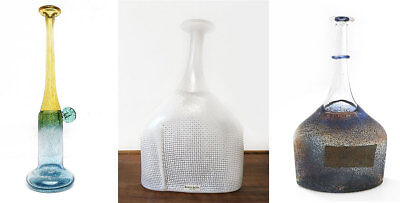 Three Vases by Bertil Valien for Kosta Boda