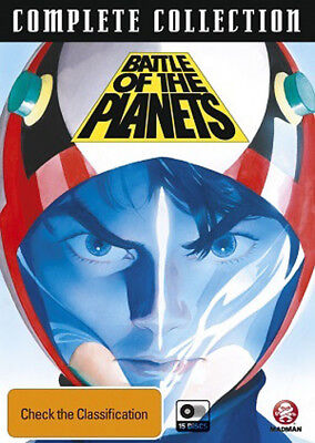 Battle Of The Planets (1978)(Gatchaman) Complete Tv Series